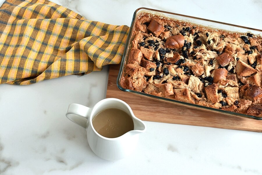 How to serve Bread Pudding Recipe