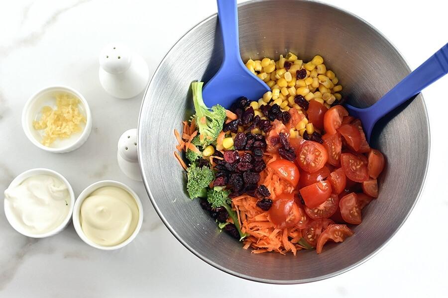 Broccoli Corn Salad recipe - step 1