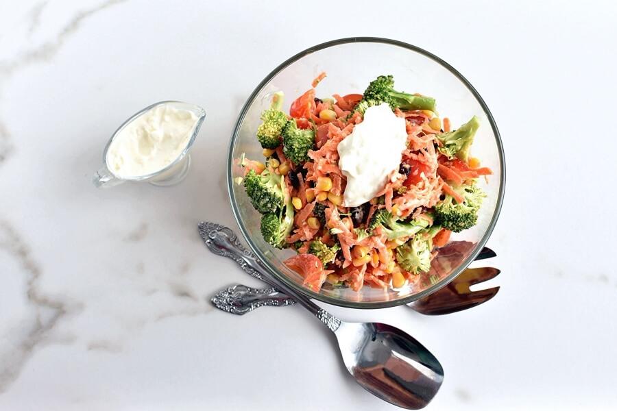 Broccoli Corn Salad recipe - step 3