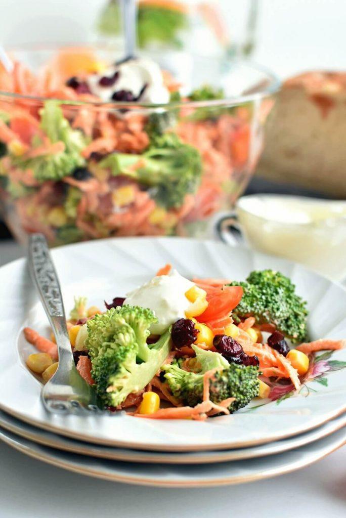 Green and Gold, Rainbow Salad