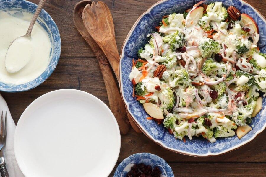 How to serve Broccoli Salad with Creamy Lemon Dressing