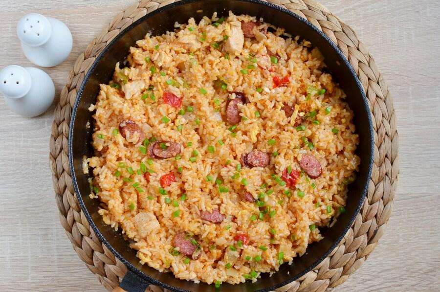 How to serve Cajun Rice Bake