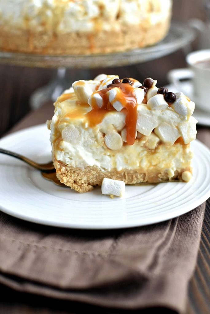 Cheesecake with Marshmallows