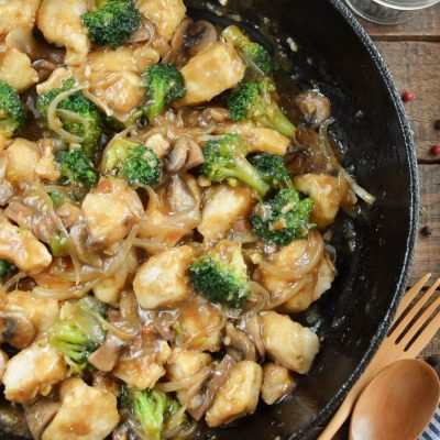 Chicken Broccoli and Mushroom Stir Fry Recipe-How To Make Chicken Broccoli and Mushroom Stir Fry-Delicious Chicken Broccoli and Mushroom Stir Fry