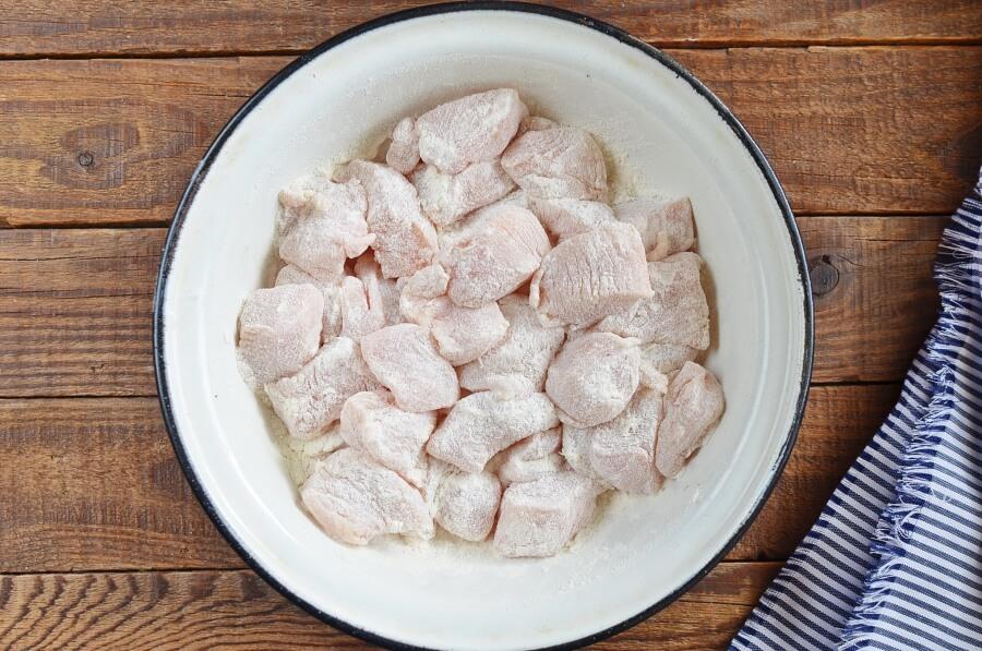 Chicken Broccoli and Mushroom Stir Fry recipe - step 1