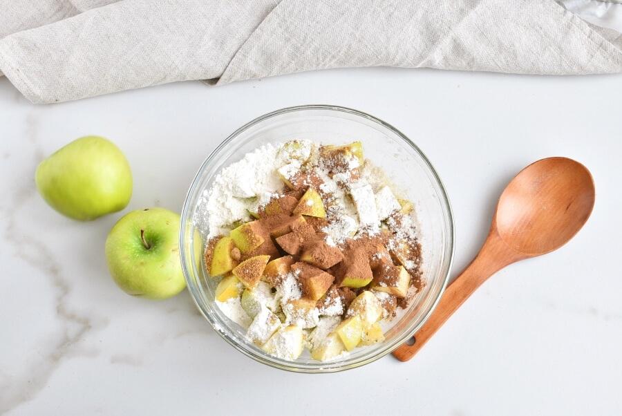 Cinnamon Swirl Topped Apple Cake recipe - step 6