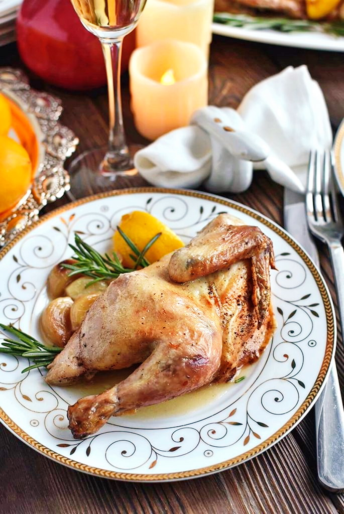 Cornish-Game-Hens-with-Garlic-and-Rosemary-Recipe-How to make-Cornish-Game-Hens-with-Garlic-and-Rosemary-Delicious-Cornish-Game-Hens-with-Garlic-and-Rosemary