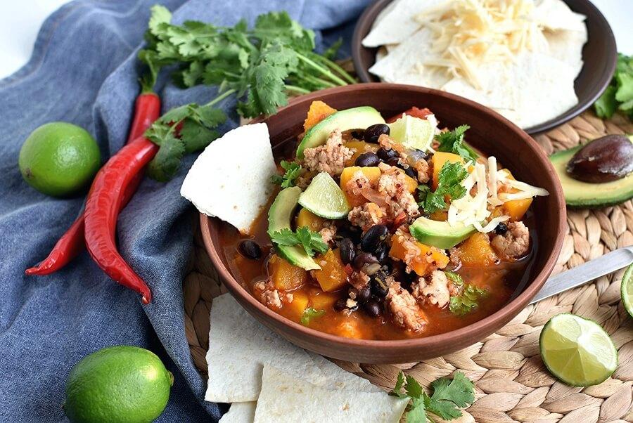 How to serve Crockpot Southwest Turkey Chili