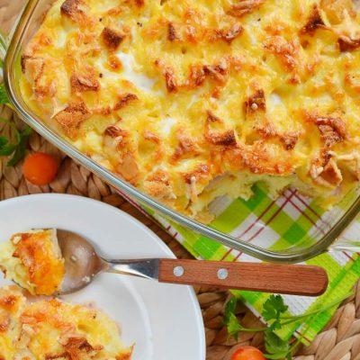 Croque Monsieur Casserole Recipe-How To Make Croque Monsieur Casserole-Delicious Croque Monsieur Casserole