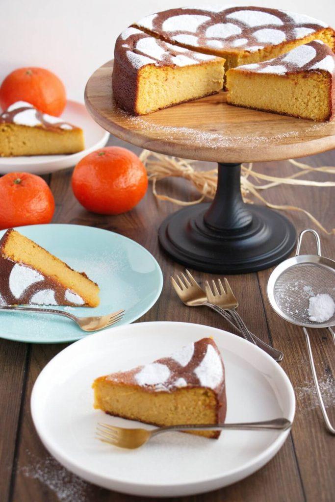 Gluten Free Tangerine Cake