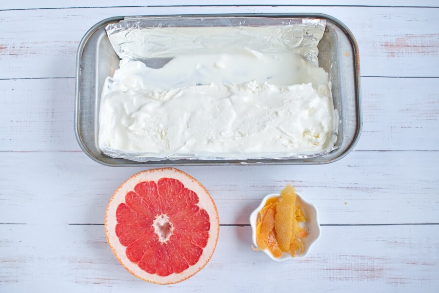 Grapefruit Creamsicles recipe - step 1