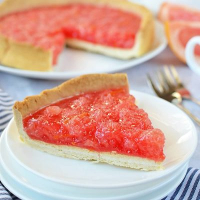 Grapefruit Pie Recipe-How To Make Grapefruit Pie-Delicious Grapefruit Pie