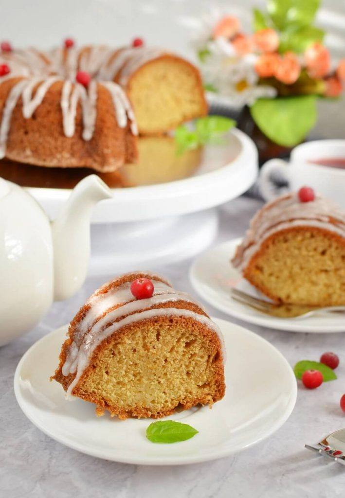 Grapefruit Yogurt Bundt Cake Recipe-How To Make Grapefruit Yogurt Bundt Cake-Delicious Grapefruit Yogurt Bundt Cake