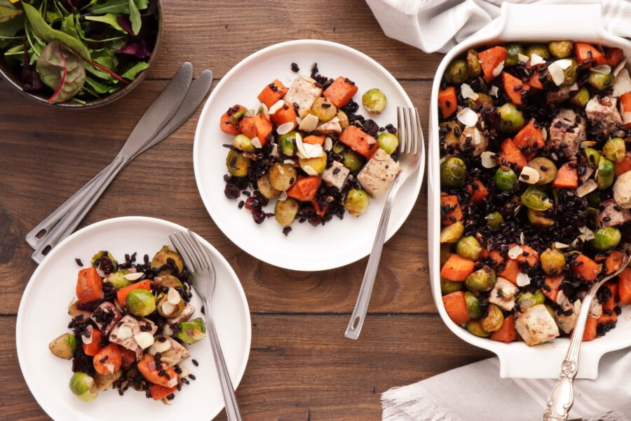 How to serve Harvest Chicken Casserole