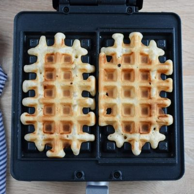 Homemade Belgian Waffles recipe - step 7