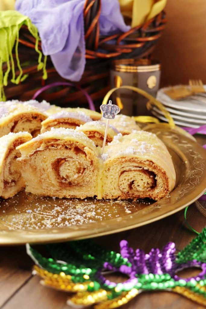 King Cake for Mardi Gras