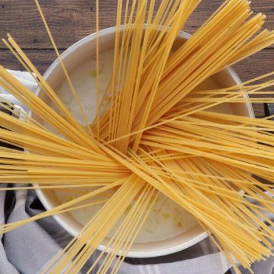 Vegan Lemon Spaghetti with Spinach recipe - step 3