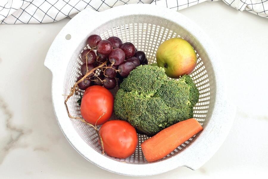 Loaded Broccoli Radish Salad recipe - step 1