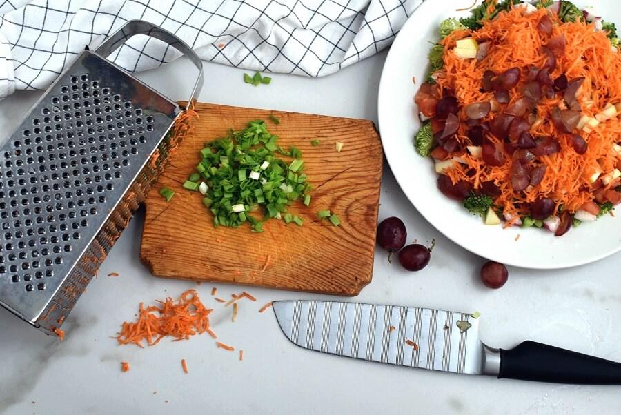 Loaded Broccoli Radish Salad recipe - step 3