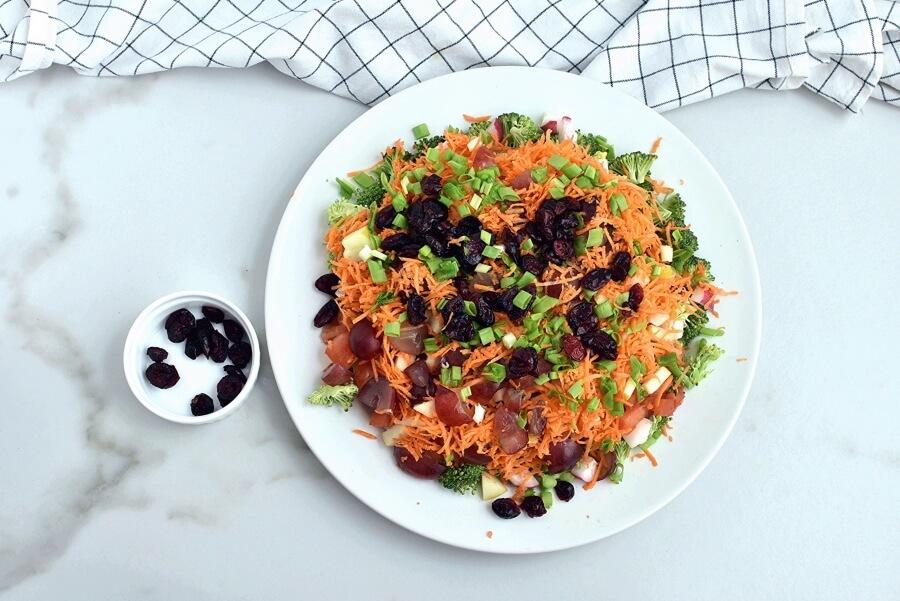 Loaded Broccoli Radish Salad recipe - step 4