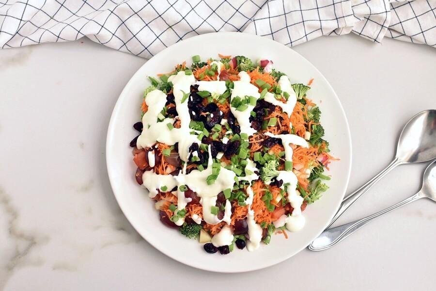 Loaded Broccoli Radish Salad recipe - step 6