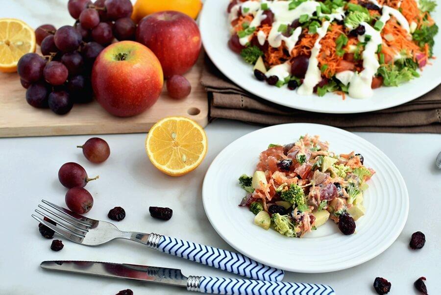 How to serve Loaded Broccoli Radish Salad