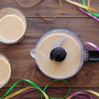 Mardi Gras Smoothie recipe - step 1