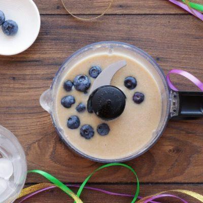 Mardi Gras Smoothie recipe - step 2
