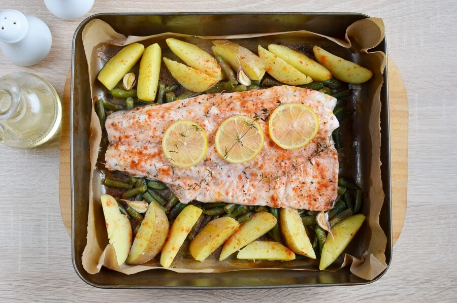 Parchment Pouch Fish Dinner recipe - step 4