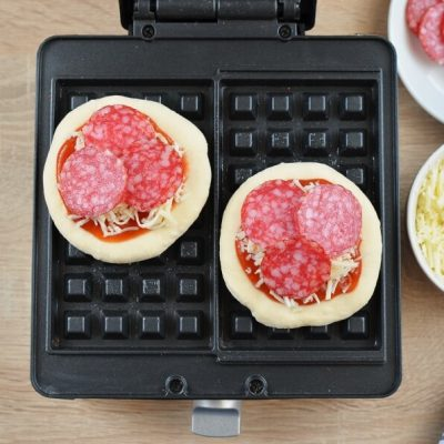 Pizza Waffles recipe - step 5