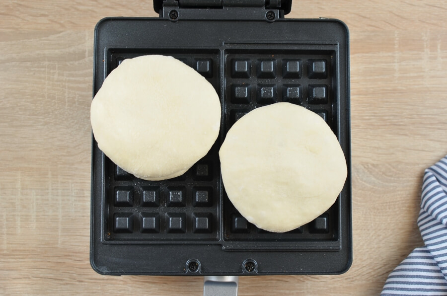 Pizza Waffles recipe - step 6
