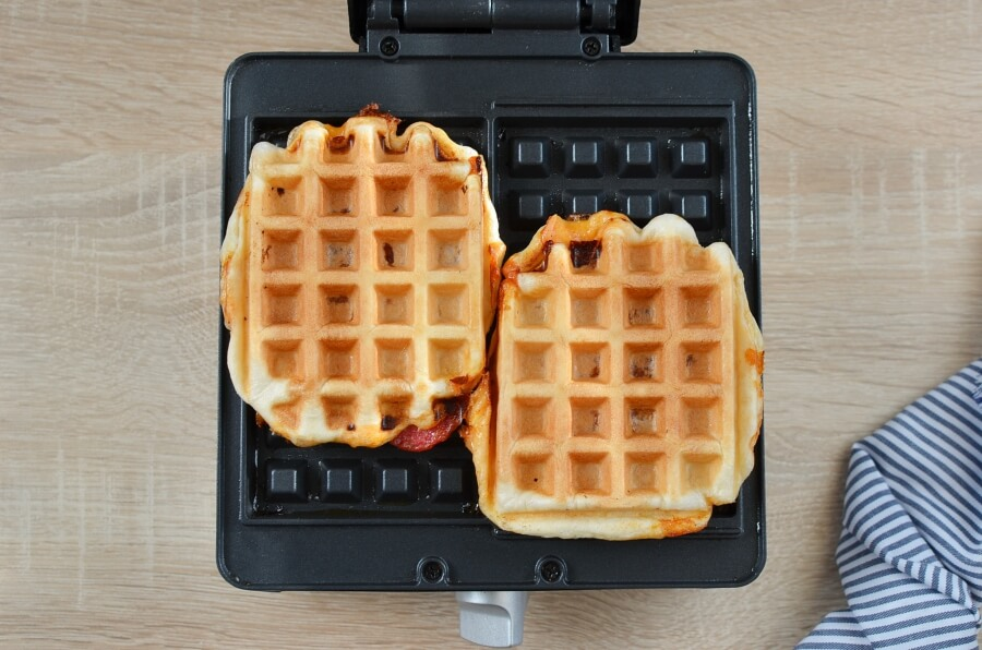 Pizza Waffles recipe - step 7