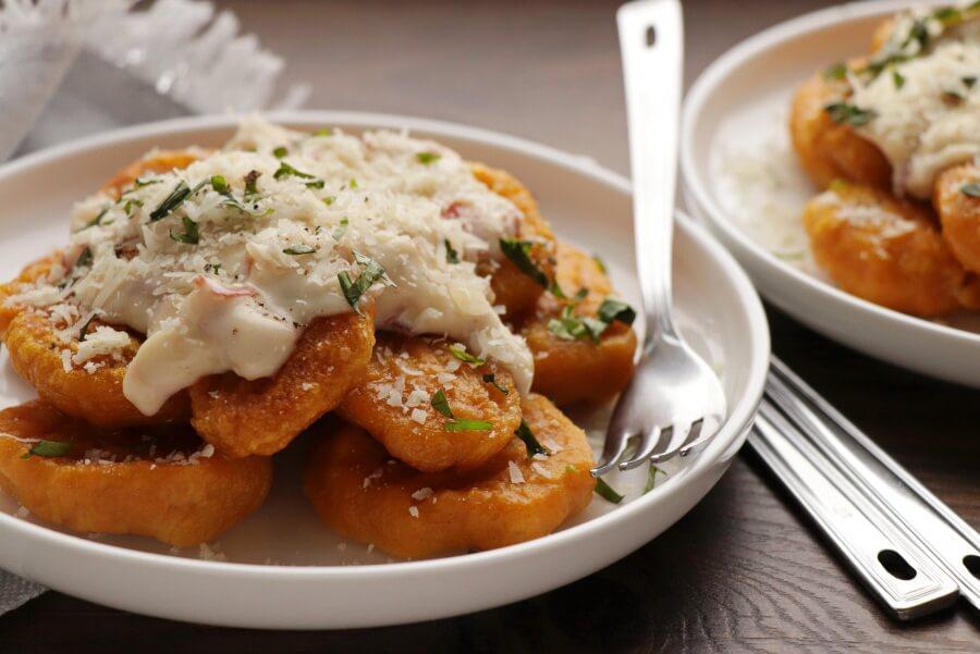 Pumpkin Potato Gnocchi Recipe-Potato and Roasted Pumpkin Gnocchi-Pumpkin-Potato Gnocchi