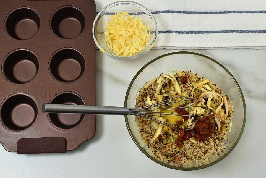 Quinoa Egg Breakfast Muffin Recipe recipe - step 3