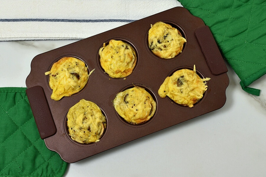 Quinoa Egg Breakfast Muffin Recipe recipe - step 6