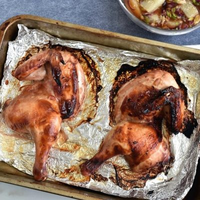 Soy Sauce and Citrus Marinated Chicken recipe - step 4
