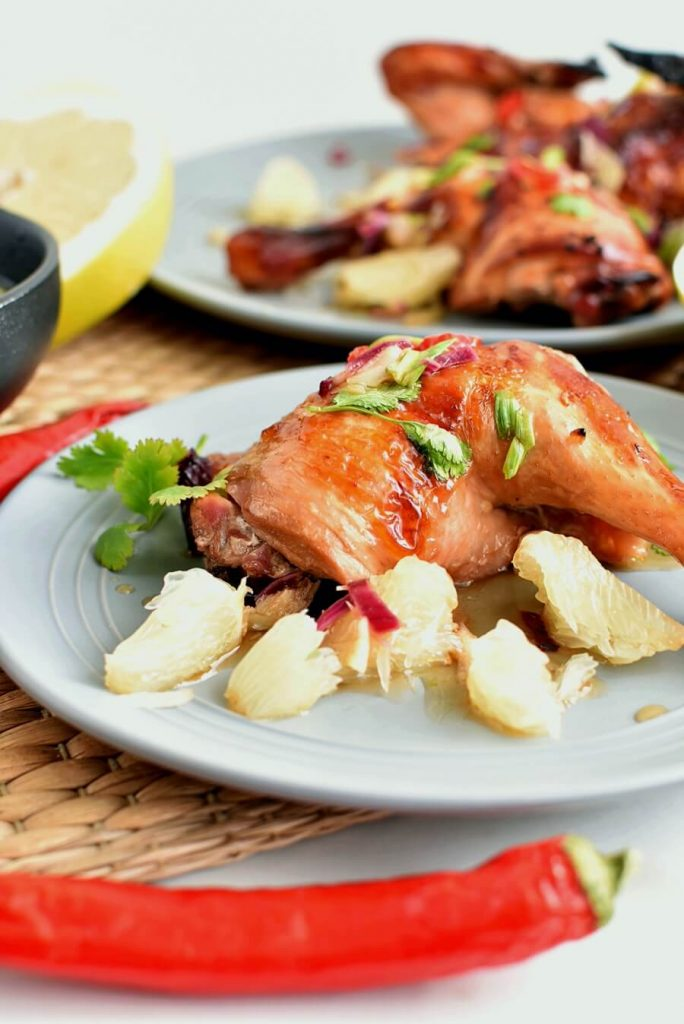 Chicken which packs a citrus punch