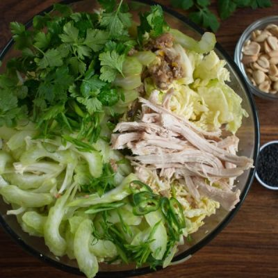 Spicy Cabbage Salad with Turkey and Peanuts recipe - step 3