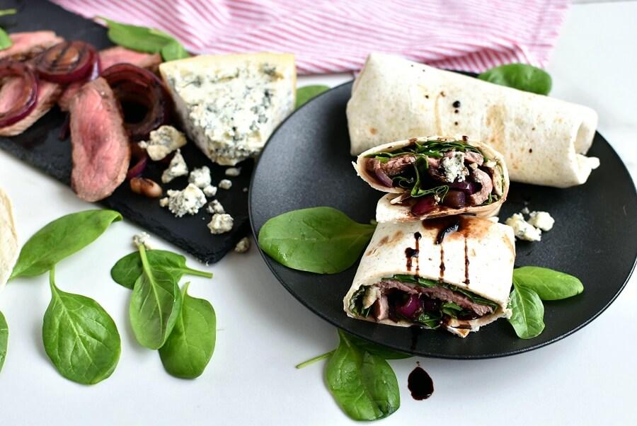 How to serve Steak Bistro Wraps