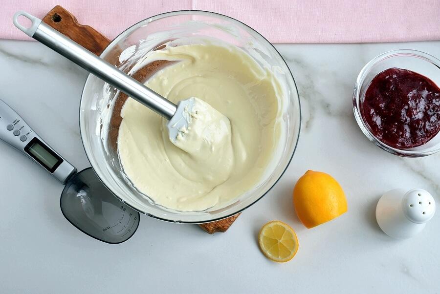 Strawberry Fudge recipe - step 1