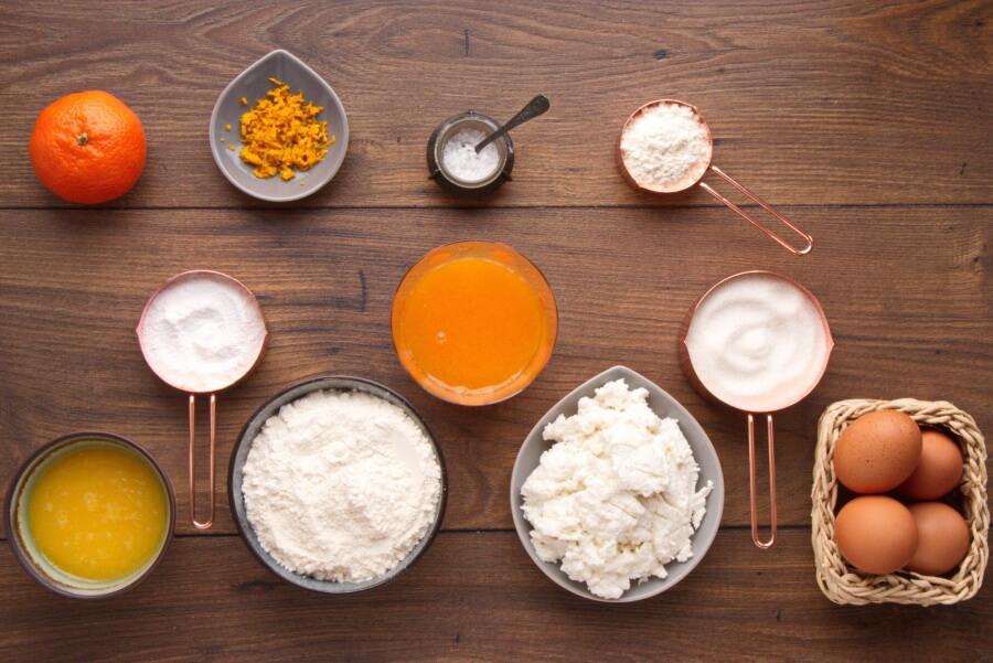 Tangerine Ricotta Bars Recipe-Easy Tangerine Ricotta Bars-How to Make Tangerine Ricotta Bars