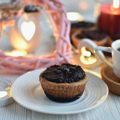 Triple Chocolate Mini Cheesecakes Recipe-Homemade Triple Chocolate Mini Cheesecakes-Delicious Triple Chocolate Mini Cheesecakes