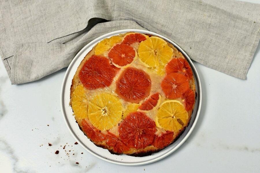 Upside Down Winter Citrus Cake recipe - step 10