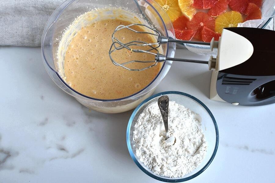 Upside Down Winter Citrus Cake recipe - step 6