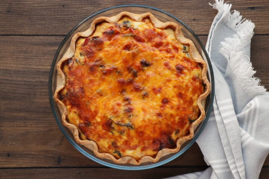 Veggie Mediterranean Quiche recipe - step 10
