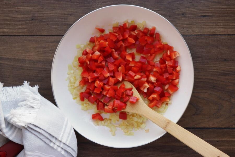 Veggie Mediterranean Quiche recipe - step 4