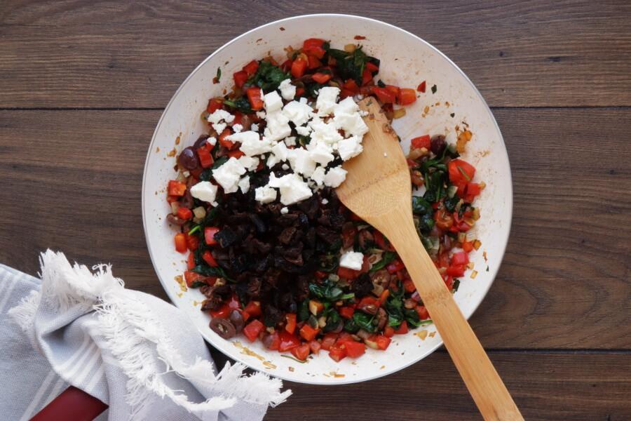 Veggie Mediterranean Quiche recipe - step 6