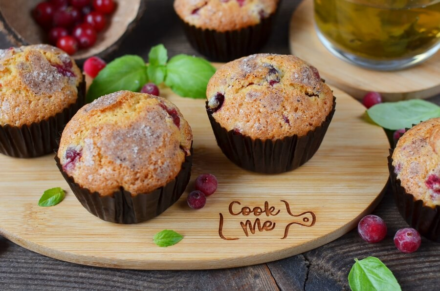 How to serve Winning Cranberry Muffins