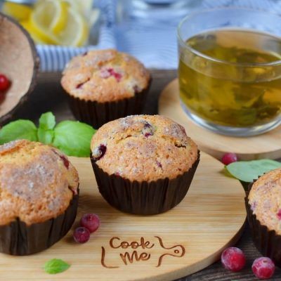 Winning Cranberry Muffins Recipe-How To Make Winning Cranberry Muffins-Delicious Winning Cranberry Muffins