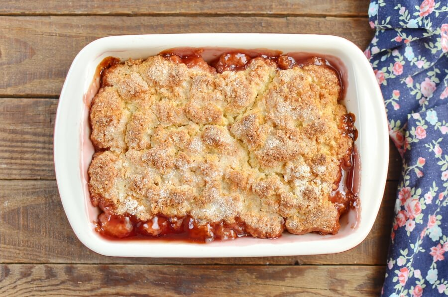 Apple Pomegranate Cobbler recipe - step 8